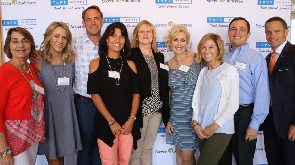 Dr. Mike Mango and his dental team at the TOPS total patient services seminar in Ft. Worth, TX. September 2017