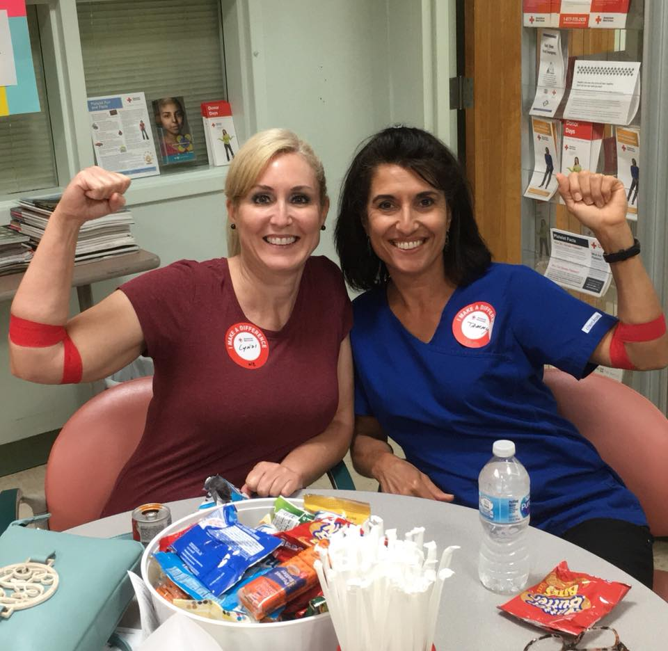 Hygienists Giving Blood