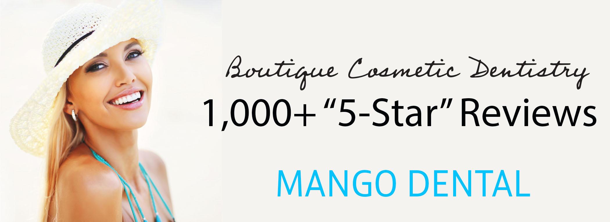 1,000 5-Star Reviews for Mango Dental